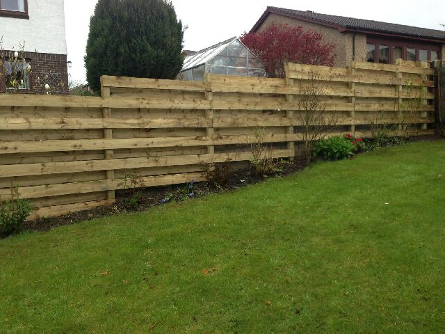 Garden Fence Contractor St Andrews Fife Fencing Built and Maintained