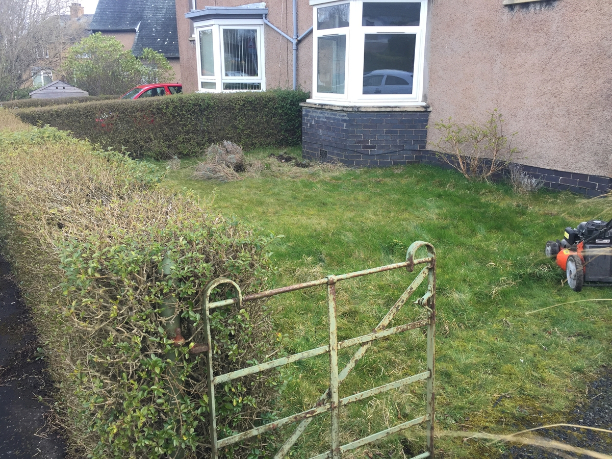 Garden Maintenance Services in Fife - before